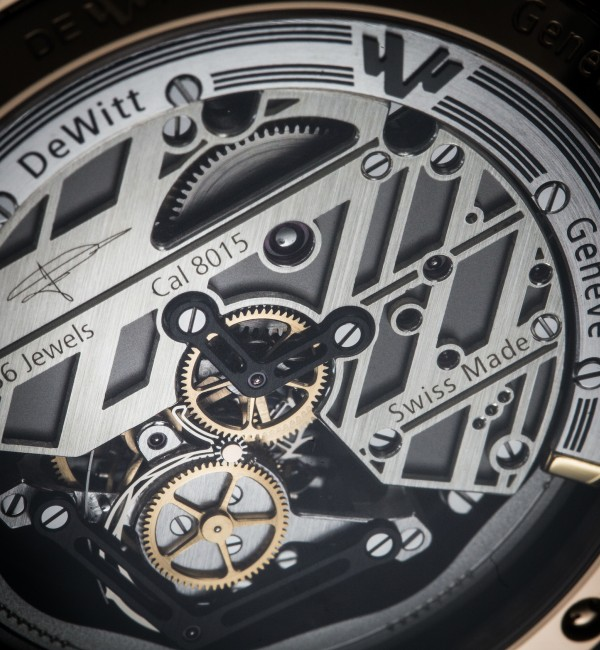TECHNICAL KNOW-HOW HAND-MADE TOURBILLON MOVEMENTS