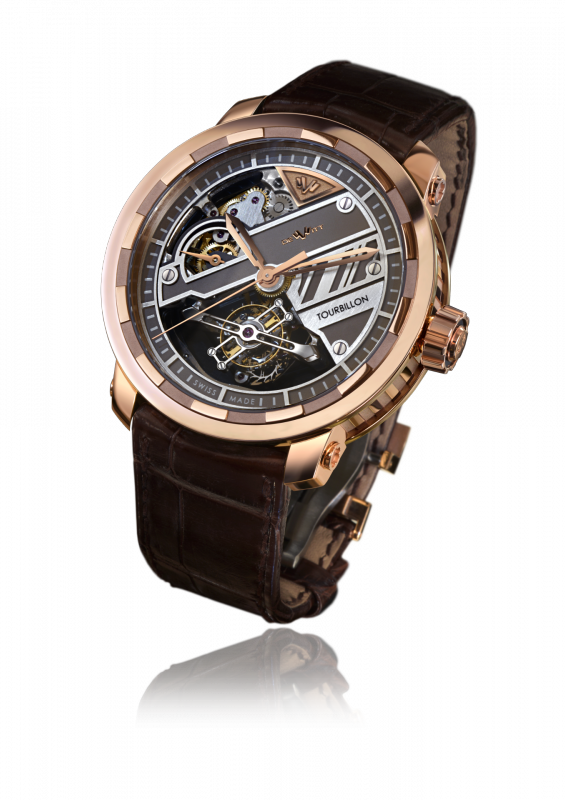 Twenty-8-Eight Tourbillon Prestige, automatic movement, rose gold - T8.TP.001