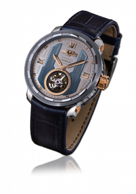 Twenty-8-Eight Tourbillon, manually wound movement, white gold and titanium - T8.TH.015