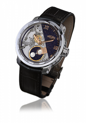 Twenty-8-Eight Full Moon, automatic movement, titanium - T8.FM.001