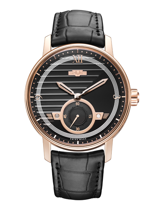 Academia Small Second, automatic movement, rose gold - AC.PTS.001