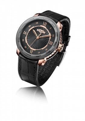 Twenty-8-Eight Automatic, automatic movement, rose gold and titanium - T8.AU.011