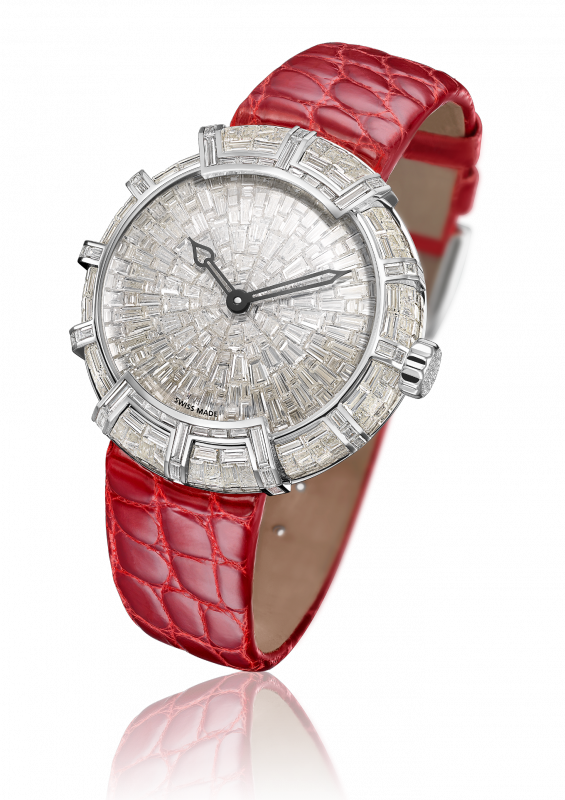 Princesse Marie Clotilde, automatic movement, white gold - PMC.HJ.001