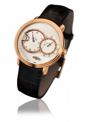 Classic Jumping Hour, rose gold, automatic movement - CLA.HSA.002