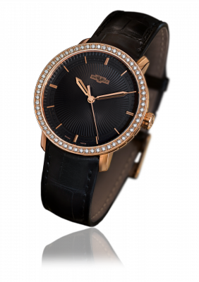 Classic Jewellery, rose gold, automatic movement - CLA.HMS/102.001