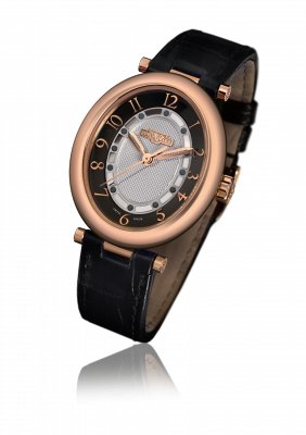 Alma, automatic movement, rose gold - AL.001