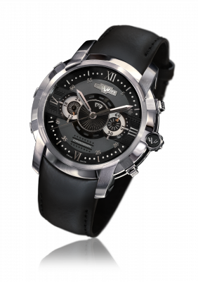 Glorious Knight Chronograph, automatic movement, steel - FTV.CHR.001