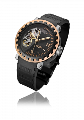 Academia Mirabilis, automatic movement, rose gold and neotitanium - AC.MI.001