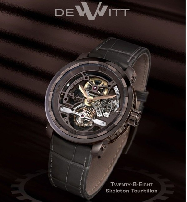 Twenty-8-Eight Skeleton Tourbillon - T8.TH.014