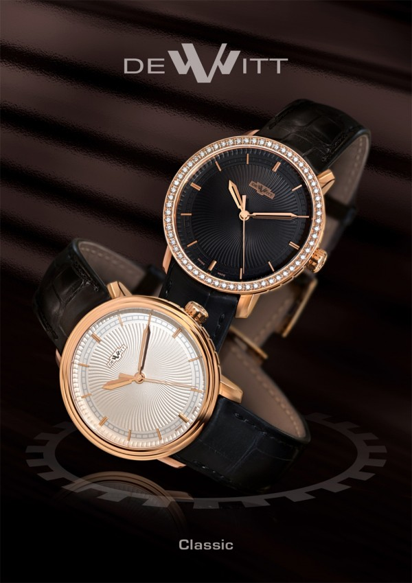 DeWitt Classic Jumping Hour 002 Watch pictures