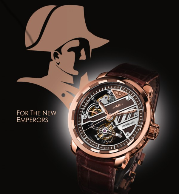 Twenty-8-Eight Tourbillon Prestige, advertising visual
