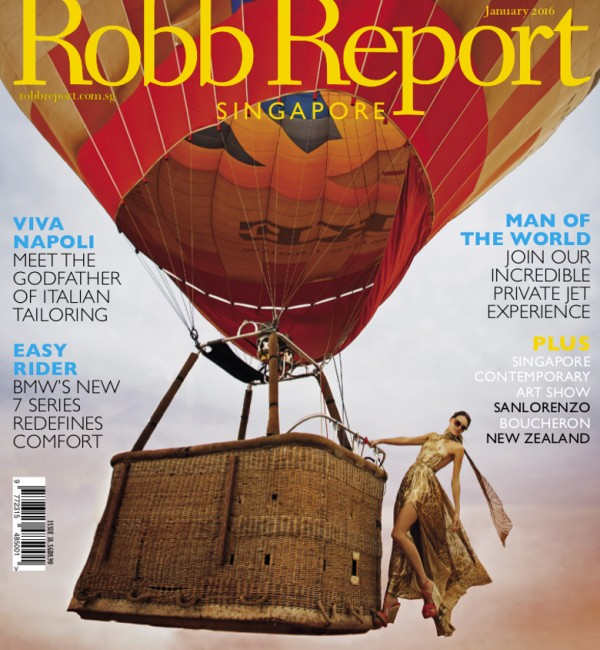 Robb Report Singapore - January 2016