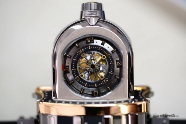 Working on the Dewitt WX-1, a concept watch